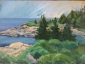 Painting--Oil-LandscapeSchoodic I