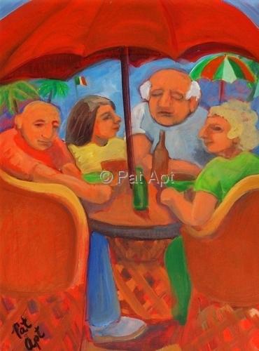 Painting--Oil-GenrePARADISE I