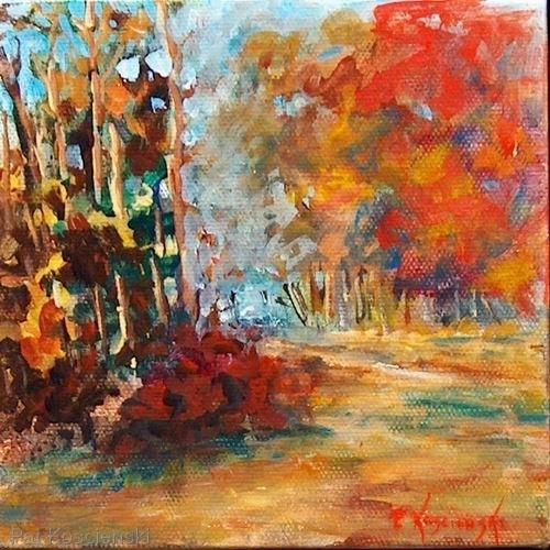 Autumn Path by Pat Koscienski