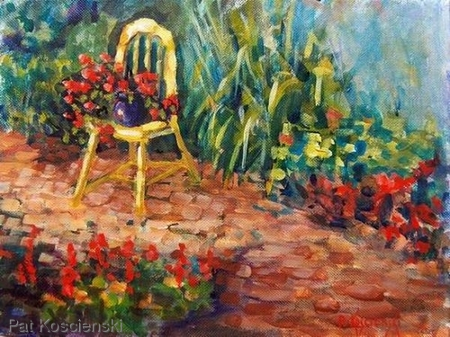 Come Sit With Me by Pat Koscienski