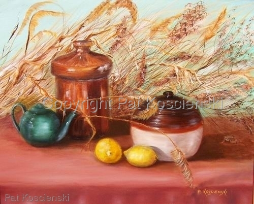 Crockware & Lemons by Pat Koscienski