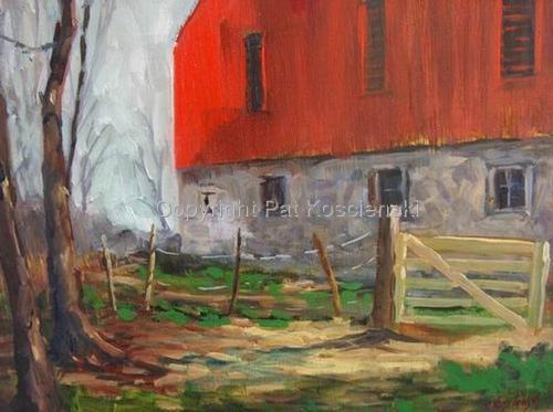 Bate's Barn by Pat Koscienski