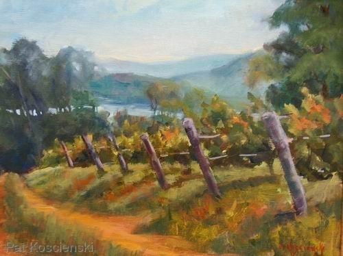 Vineyard Vista by Pat Koscienski