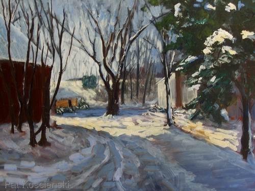 Dan's Winter Barn