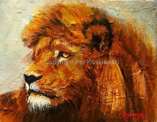 Leo by Pat Koscienski