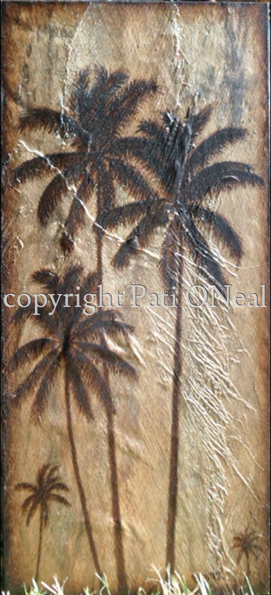 Coconut Palms I (large view)