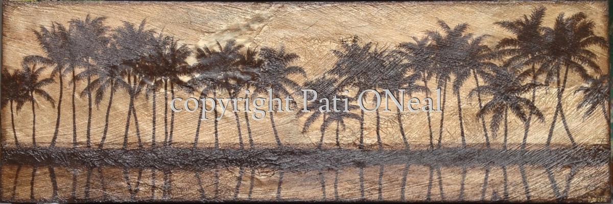Anaehoomalu Bay Palms (large view)