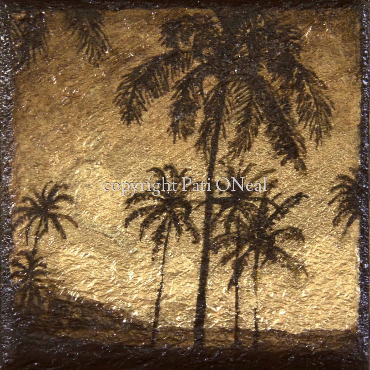 Ali'i Beach Palms (large view)