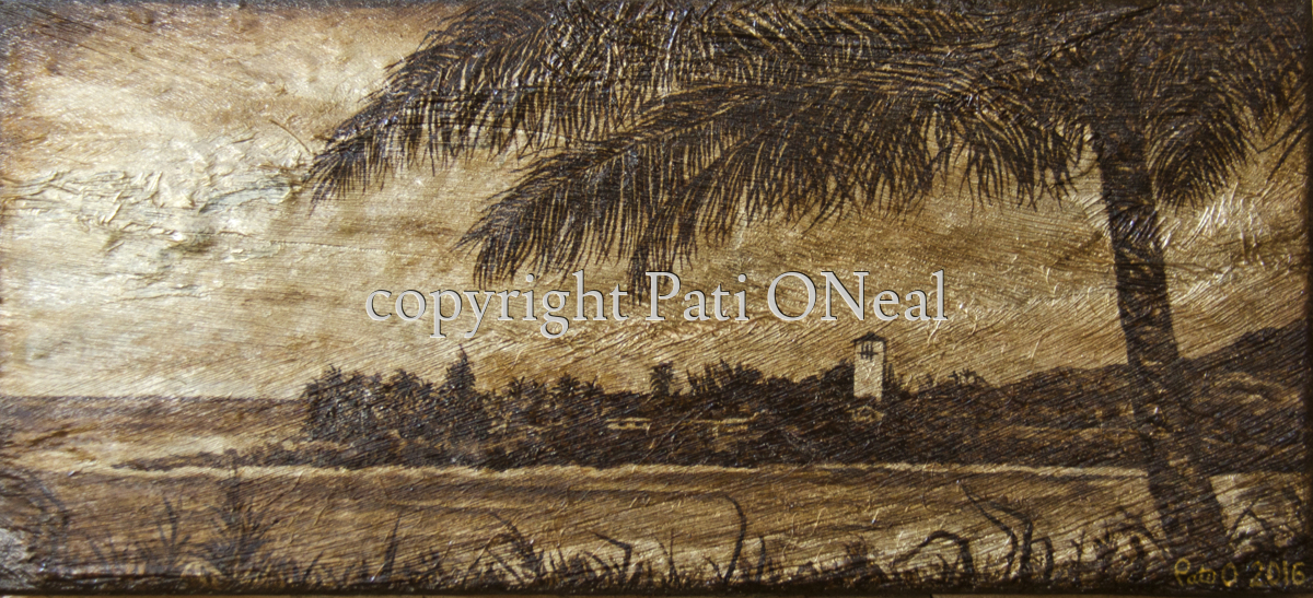 Waimea Bay Palm (large view)