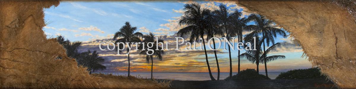 Hale'iwa Sunset (large view)