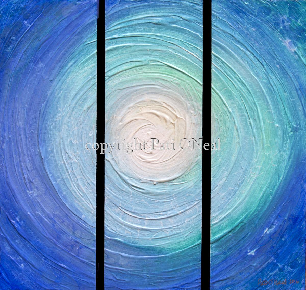 Blue Swirl (large view)