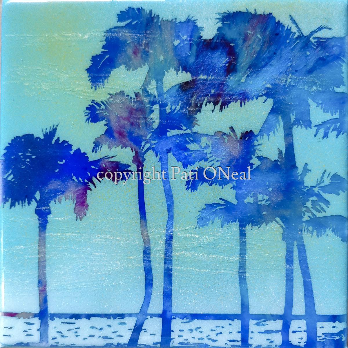 Mini Blue Palms (large view)