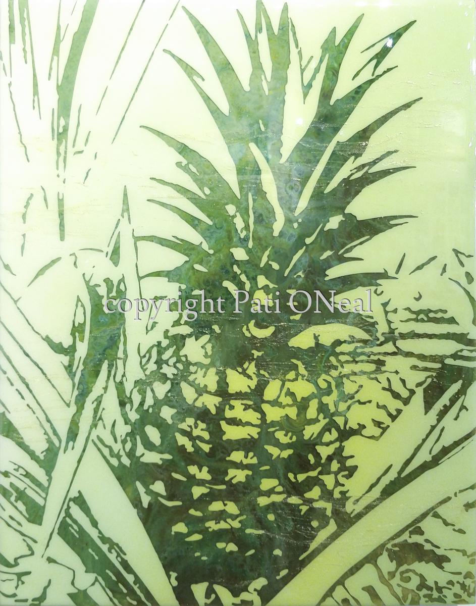 Pineapple Verde (large view)