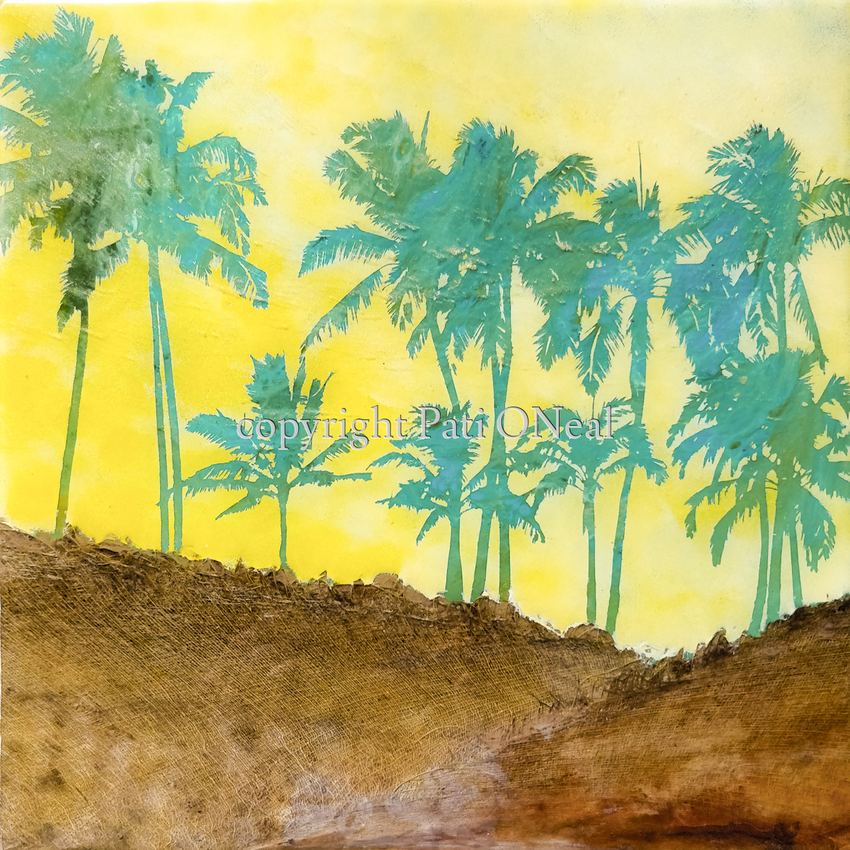 Summer Coco Palms (large view)