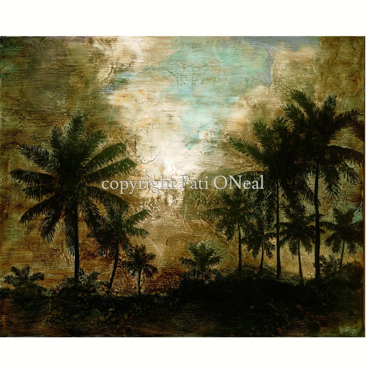 Vintage Kailua Palms (large view)