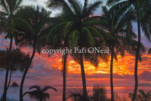 Waikane Sunrise by Pati O'Neal
