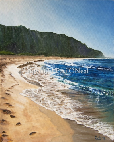 Afternoon Mokuleia Sunshine by Pati O'Neal