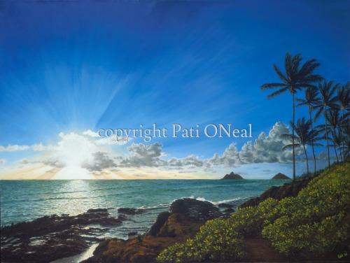 Lanikai Awakens by Pati O'Neal