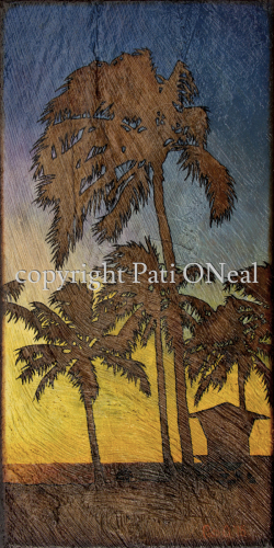 Beach Park Palms by Pati O'Neal