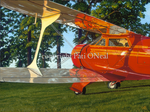 Staggerwing Reflections by Pati O'Neal
