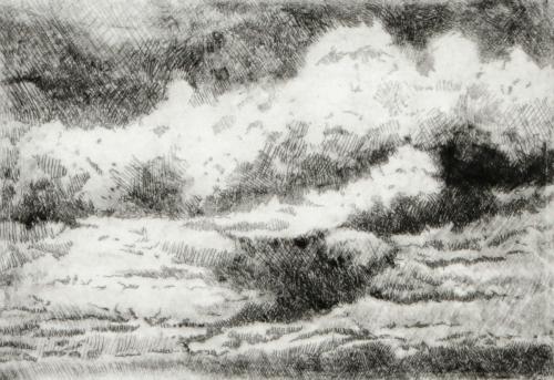 Horizons Cloud (BW)