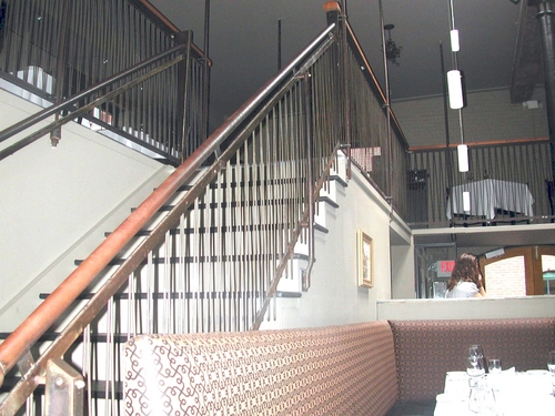 Steel Stair and Gallery Rail System, Cinque Terre, Portland, ME