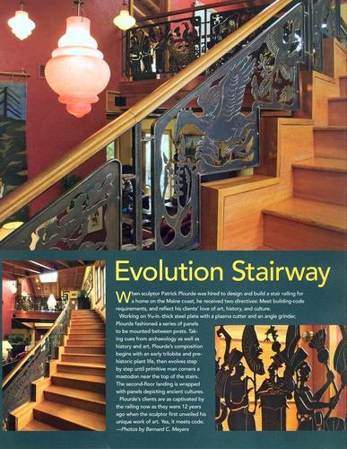 Evolution Stairway
