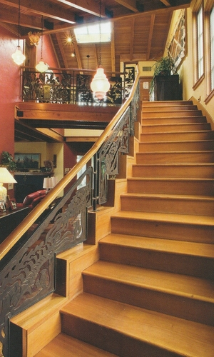 Evolution Stairway - Detail 2