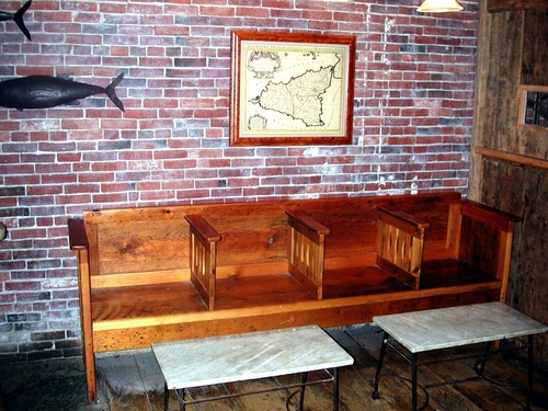 Bench and Tables, Street & Co restaurant, Portland, ME