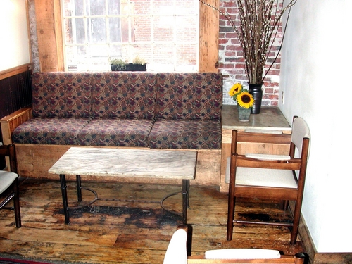 Seating Area, Street & Co, Portland, ME