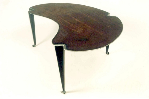 Three-legged coffee table