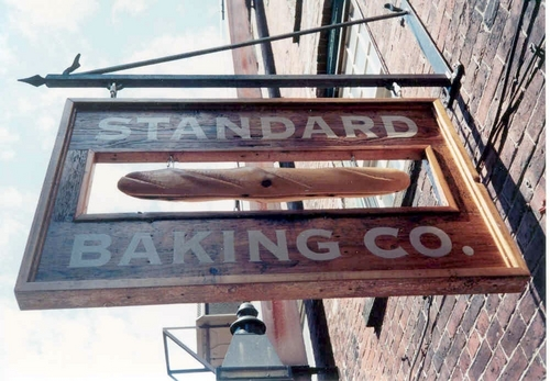 Sign and Bracket - Standard Bakery