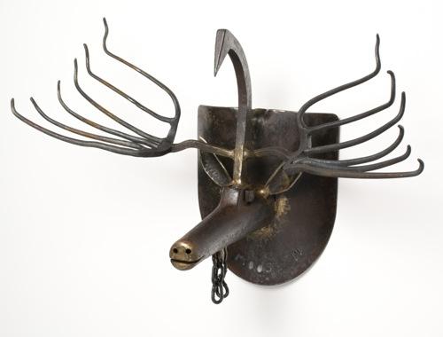 Moose Mount on Shovel
