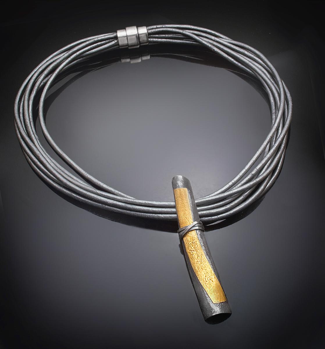 Zen wrap necklace (large view)