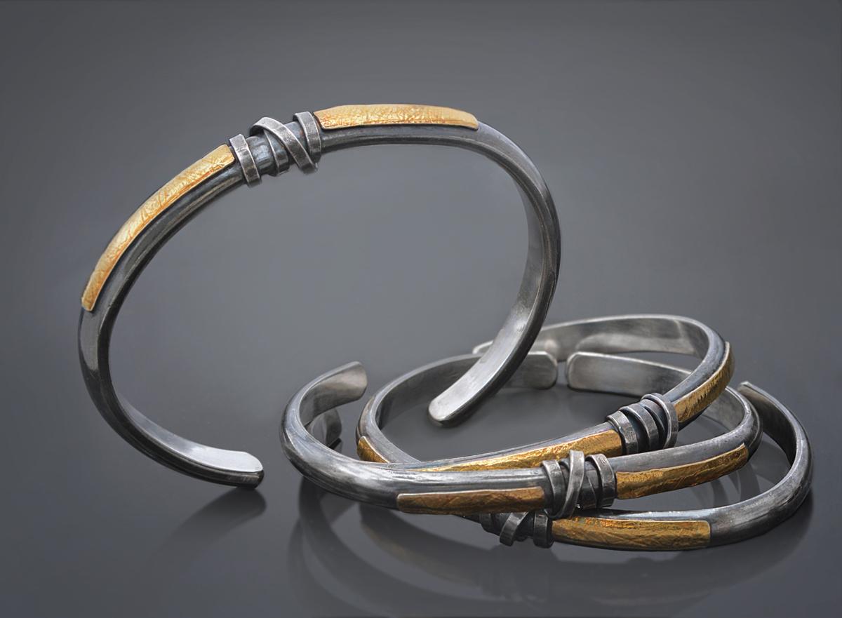 Sleek wrap cuffs (large view)