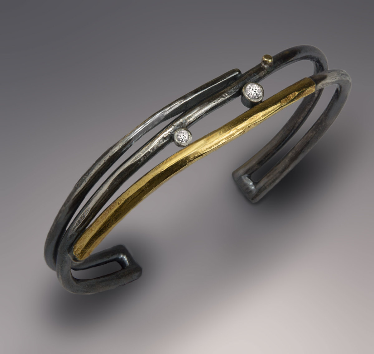 Inca Cuff with Topaz (large view)