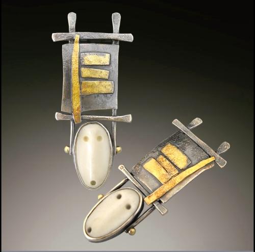 Spirit earrings by         Patricia McCleery