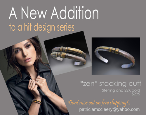 "Stacking ""zen"" cuff"