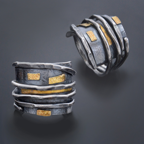 Wrap ring with layers