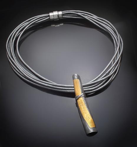 Zen wrap necklace
