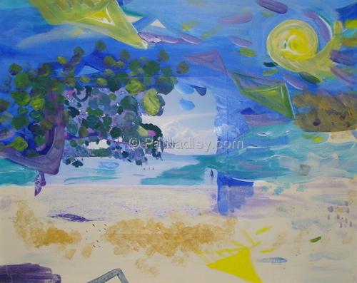 Beach,Bay,Tree