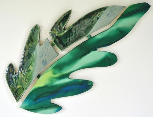 Leaf Emerald Clay / Silk Combination