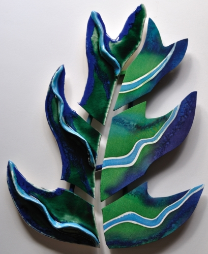 Leaf Raised Rib Clay / Silk Combination
