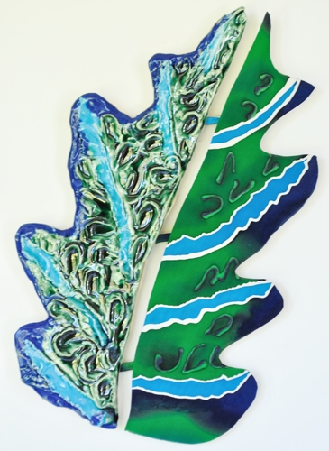 Blue Line Leaf Clay / Silk Combination