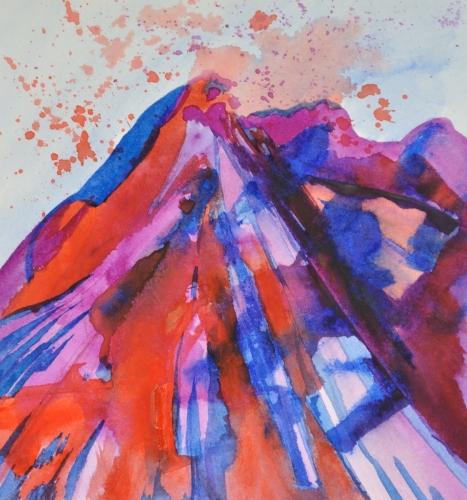 Erupting / 376