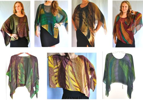 Poncho Group Collection / Rainforest Colorway