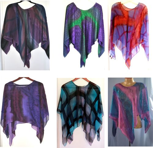 Poncho Group Collection / Royal Colorway