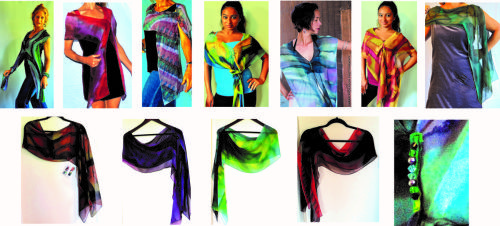 Fitted Scarves Group Collection