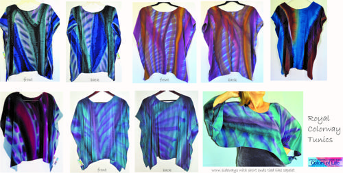 Loose Tunic Group Collection / Royal Colorway