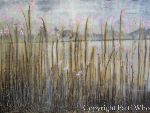River Reeds in Pink by                 Patti Who?
